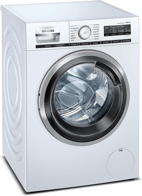 Siemens WM14VL41 iQ700 - Lavadora (9 kg, A+++, 1400 rpm, programa sensoFresh, función varioSpeed, función de relleno, aquaStop)