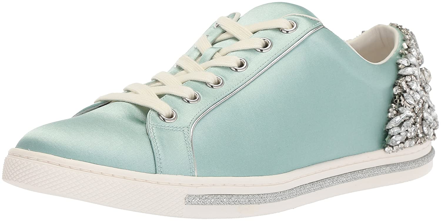 Badgley Mischka Women's Shirley Sneaker B0721RNXXS 8 B(M) US|Blue Radiance