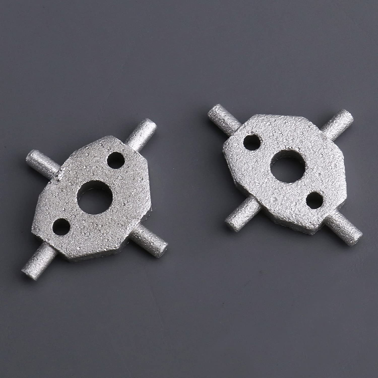 1 Pair Car Truck Vehicle Headlight Washer Nozzle Cover For Jaguar X-Type S-Type