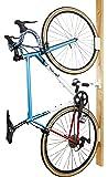 サイクルロッカー(CycleLocker) 壁掛け縦置き自転車スタンドハンガー「クランクストッパーウォールCSW-01」