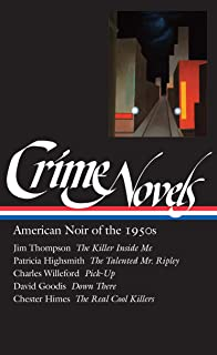 Amazon david goodis five noir novels of the 1940s 50s loa crime novels american noir of the 1950s the killer inside me the talented fandeluxe Image collections