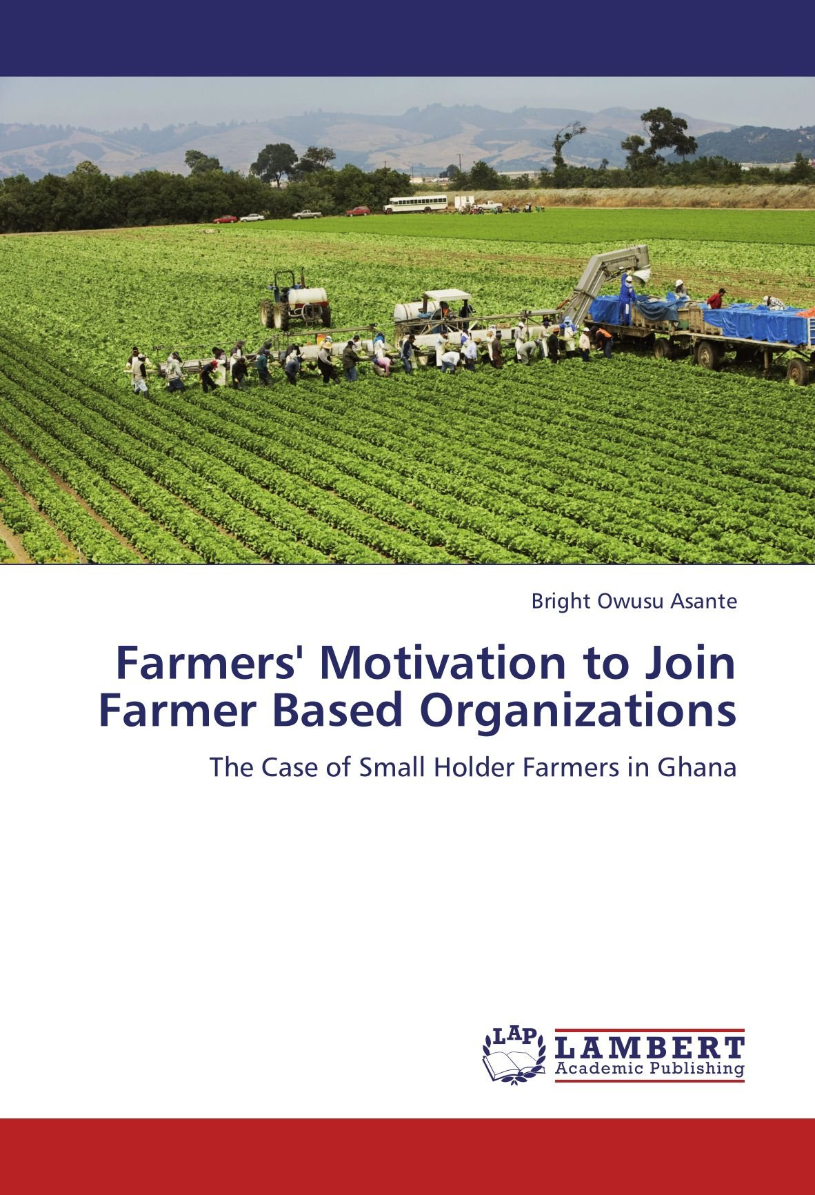Download Farmers' Motivation to Join Farmer Based Organizations: The Case of Small Holder Farmers in Ghana ebook