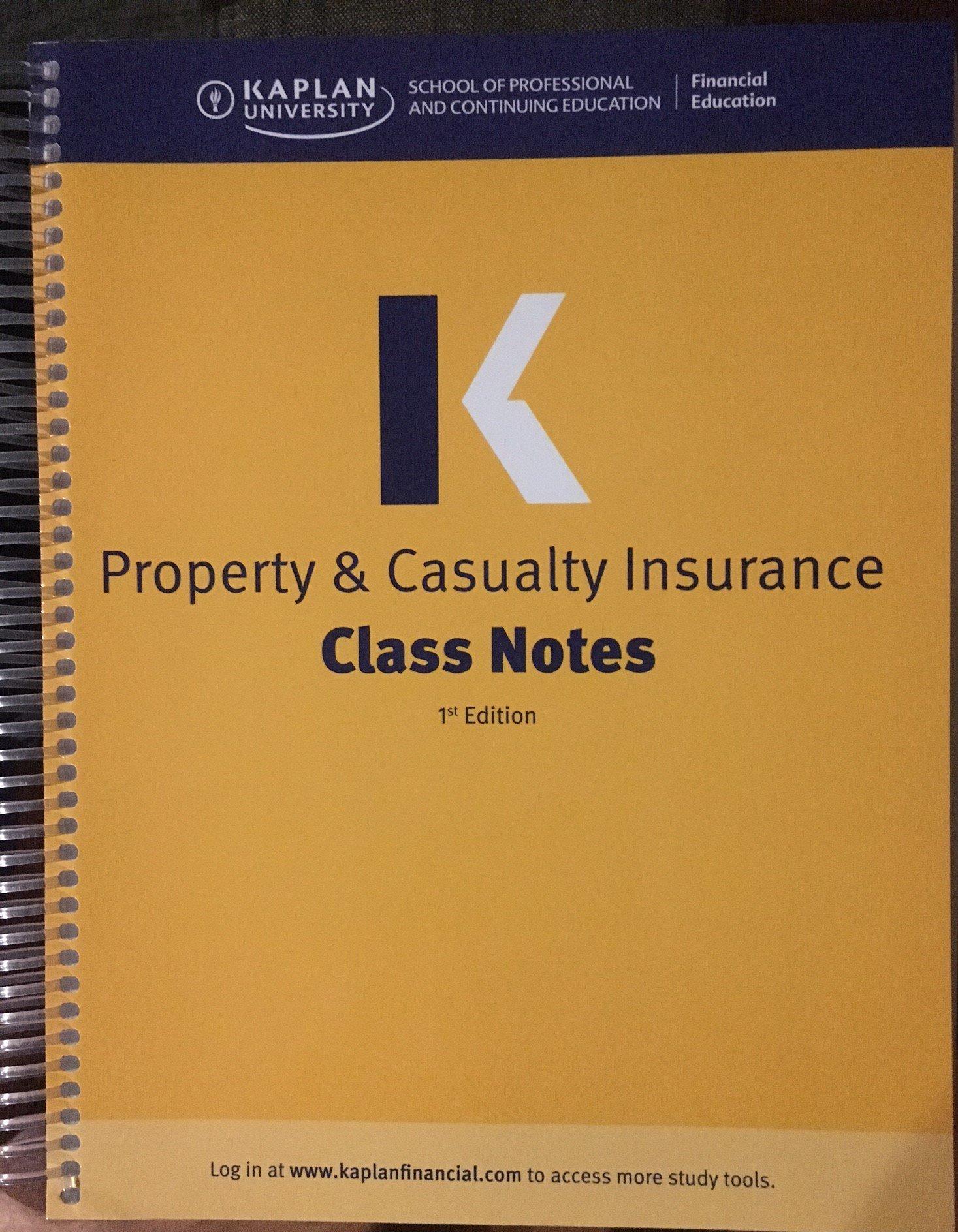 Propertycasualty insurance li kaplan financial education propertycasualty insurance li kaplan financial education 9781427725066 amazon books fandeluxe Gallery