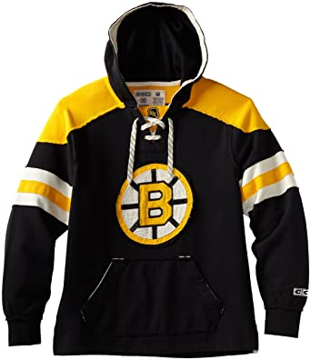 Amazon.com : NHL Boston Bruins CCM Pullover Hoodie, Medium, Black ...