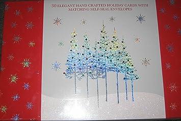 Amazon 30 elegant handmade christmas cards health personal care 30 elegant handmade christmas cards m4hsunfo