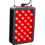 Red Light Therapy Device by Hooga, 660nm 850nm, Near Infrared LED Light Therapy Lamp Panel, 60 LEDs, Clinical Grade, High Pow