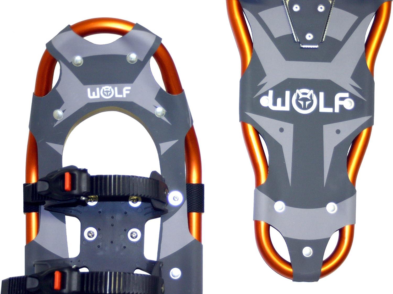 hasta 120 kg Wolf Impression 23//27//30 Raquetas de Nieve