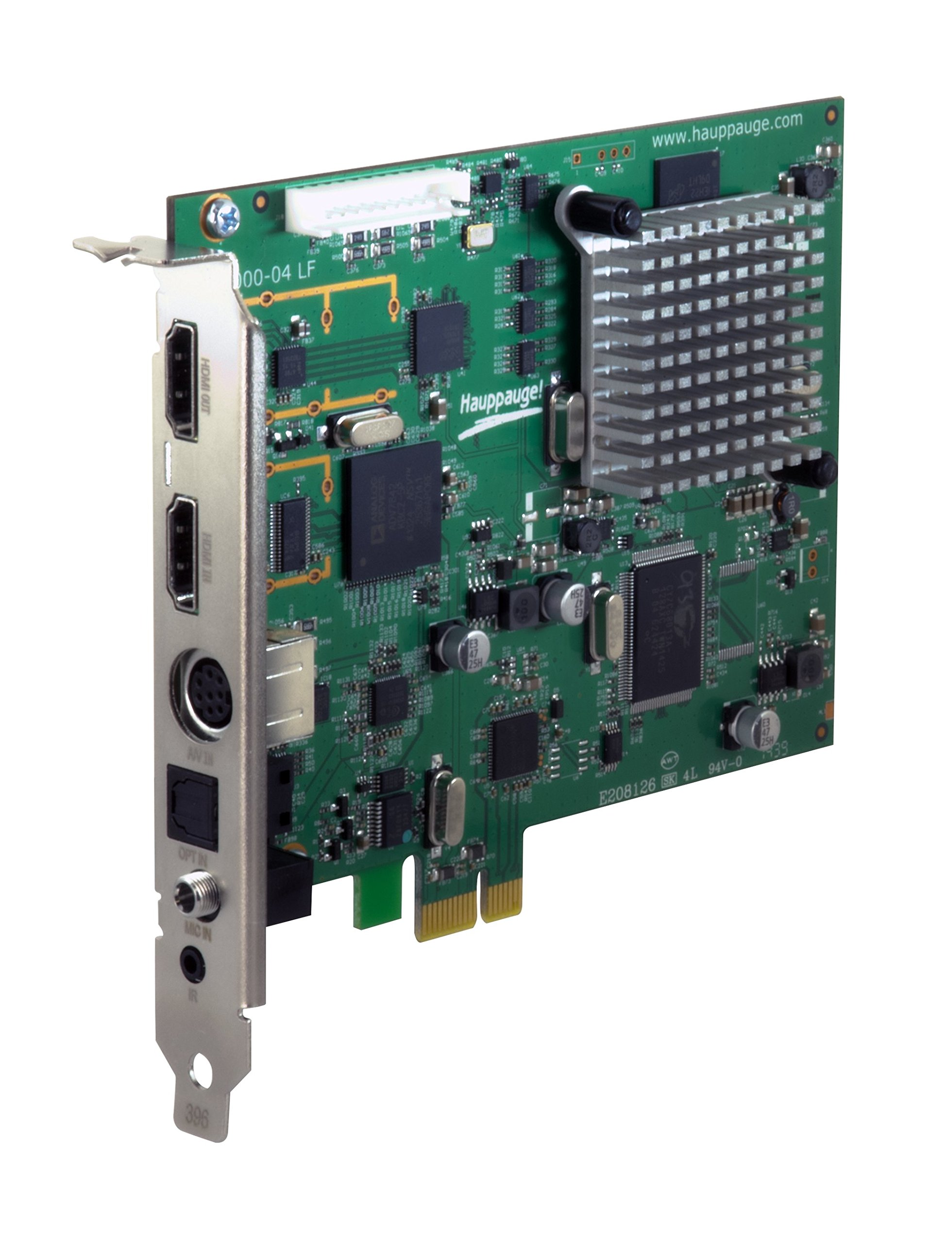 Hauppauge Colossus 2 PCI Express Internal 1080p HD-PVR by Hauppauge