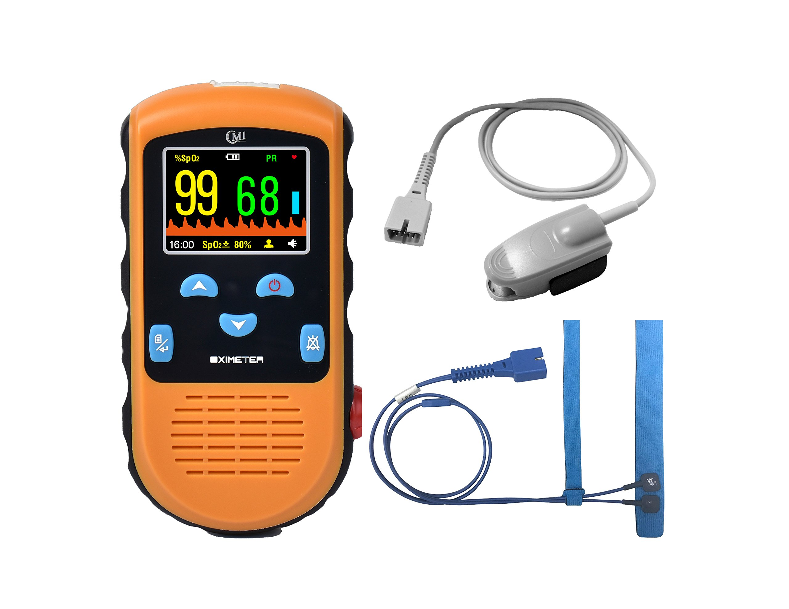CMI Handheld Pulse Oximeter - with Adult and Infant (under 20 lbs)Sensor