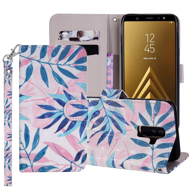 Coque pour Samsung Galaxy A6 Plus 2018 Smart Silicone PU Bumper Unique Design Souple PU Soft Cover Effacer Clair transparent Etui Housse Case (+Outdoor boussole trousseau) R1 (3)