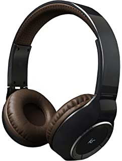 7b8eaf491a1ce2 KitSound Arena Universal Bluetooth Over-Ear Headphones with In-Line  Microphone Compatible…