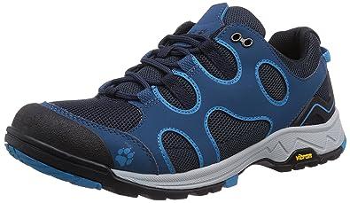 Jack Wolfskin Men's Crosswind Low Moroccan Blue Sneaker UK 12 (US Men's 13)  D
