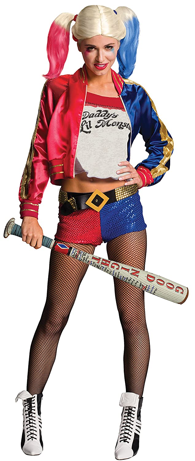Amazon.com: Rubies Costume Co Womens Suicide Squad Deluxe Harley Quinn Costume, Multi, Large: Clothing
