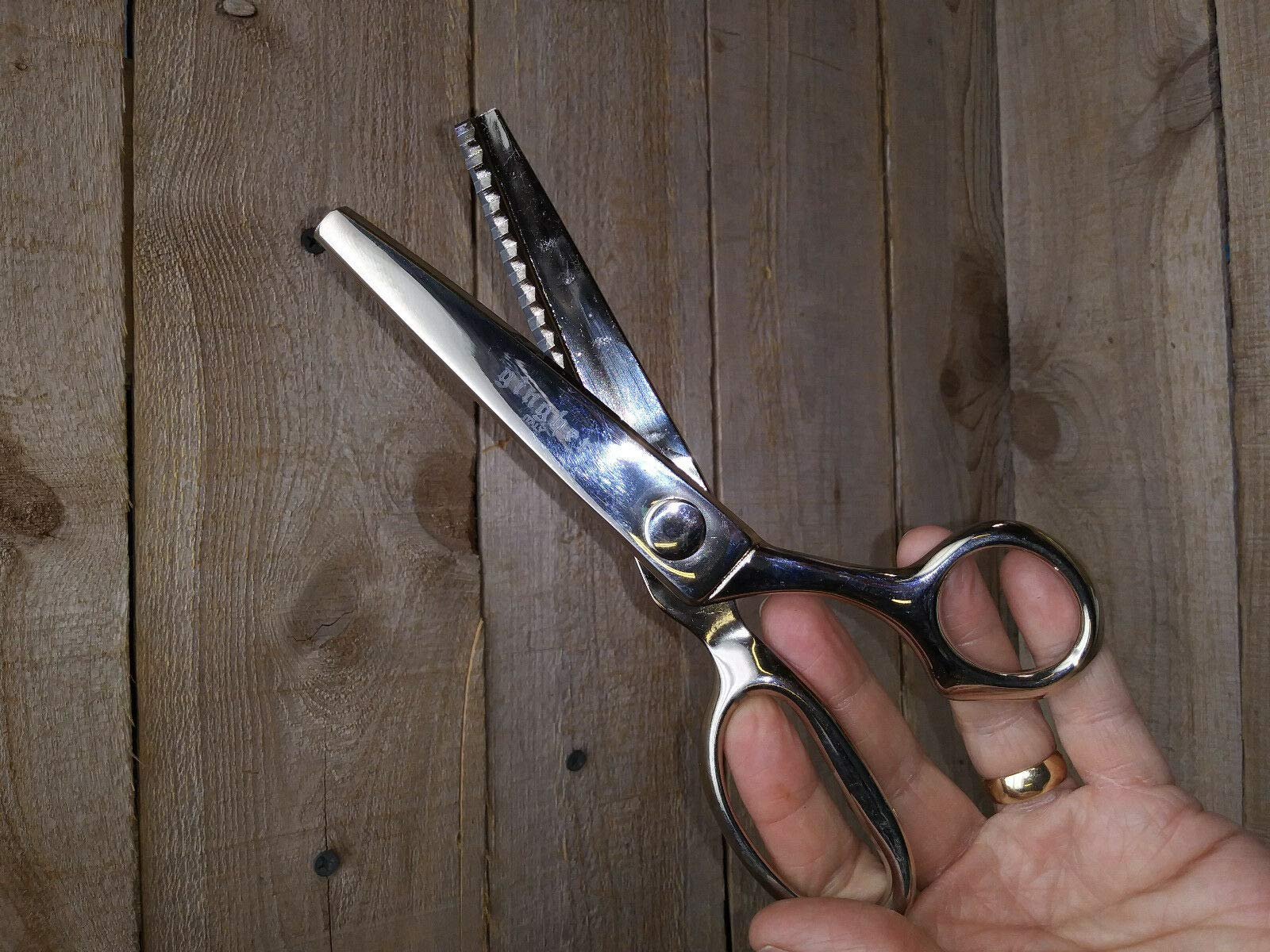 Gingher 7 1/2'' Blunt Pinking Shears-L3-500- by newkentuk