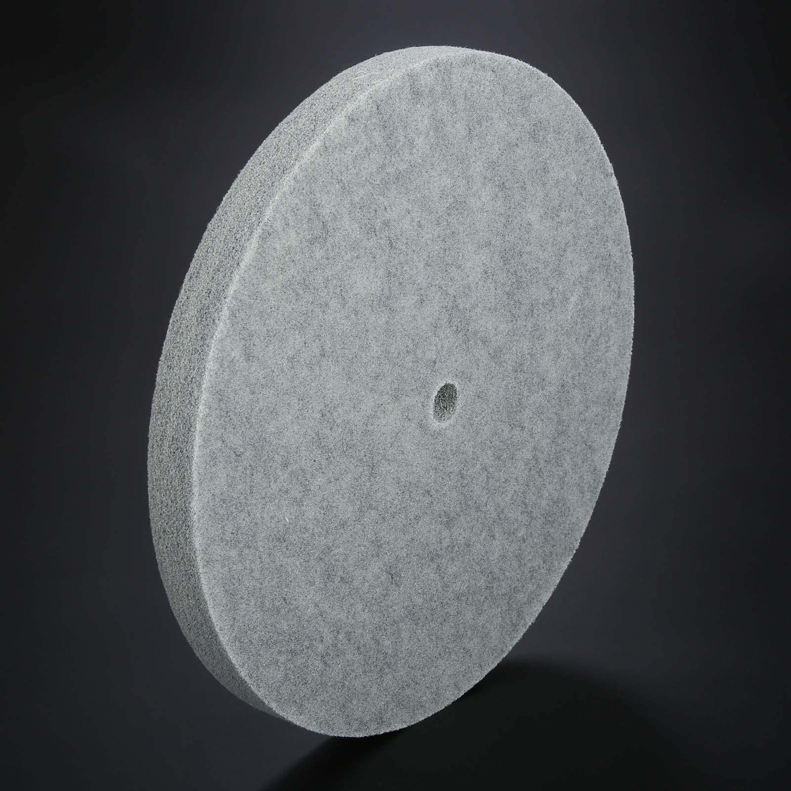 1 PC Thickness Nylon Fiber Polishing Wheel Non-Woven Unitized Wheel 5P 180#, 300MM by Yetaha (Image #6)