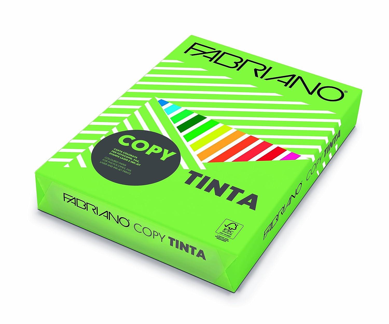 Creative World Of Crafts - Risma di carta Tinta 200 g/mq, formato A4, colorata, colore: verde pisello Creative World Of Crafts Ltd 65821297