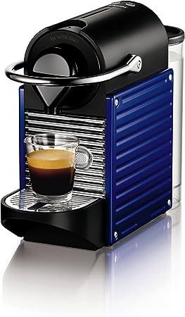 Nespresso Pixie Indigo (blue) XN3009 Krups - Cafetera monodosis 19 bares, apagado automático, Color Azul: Amazon.es: Hogar