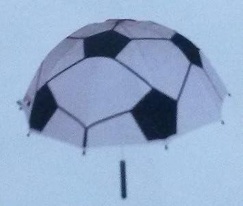Niños paraguas pantalla Fútbol