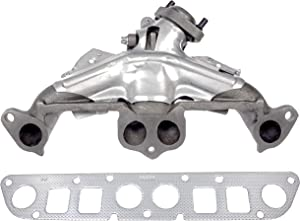 APDTY 785336 Exhaust Manifold w/Gasket & Heat Shield Fits 2.5L 4-Cylinder Engine On 96-02 Dodge Dakota 83-86 Jeep CJ 84-00 Cherokee XJ 86-92 Comanche 83-85 Scrambler 84-87 Wagoneer 87-02 Jeep Wrangler