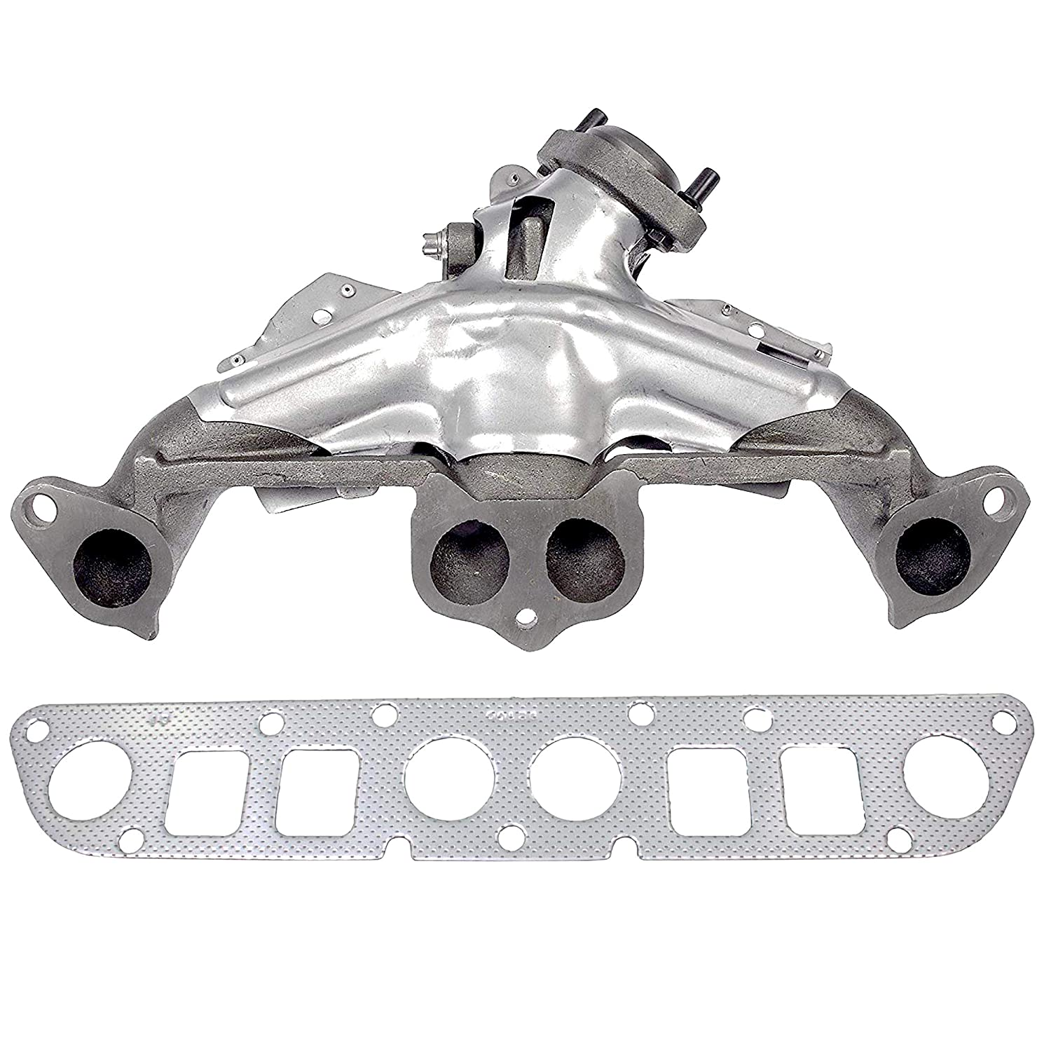 Jeep Comanche Exhaust System Gasket Apdty Manifold Heat Shield Fits Cylinder Engine On Dodge Dakota Cherokee 1500x1500