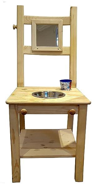 Waschtisch Für Kinder.Deskiturm Kinderwaschstuhl Waschstuhl Waschtisch Kinder Waschbecken Kinderwaschbecken Lernturm Montessori