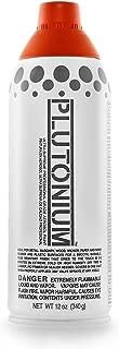 product image for Plutonium Paint Ultra Supreme Professional Aerosol Paint, 12-Ounce, Stop Light Red Translucent Color Mix
