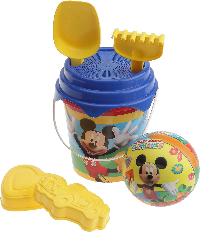 Mondo 18532 Disney Mickey Mouse - Juguetes de Playa: Pelota, rastrillo, para y moldes: Amazon.es: Juguetes y juegos