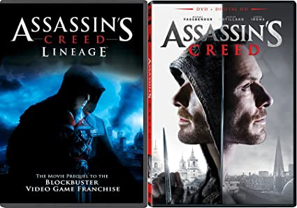 Amazon Com Video Game Assassin S Creed Movie Set Assassin S Creed Lineage Dvd Double Feature Bundle Movies Tv
