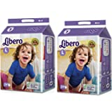 Libero Open Large Size Diaper (54 Count) - Pack Of 2