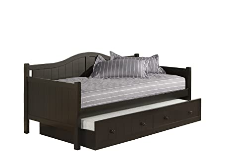 Amazon.com: Hillsdale Staci Daybed W/Nido, color negro ...