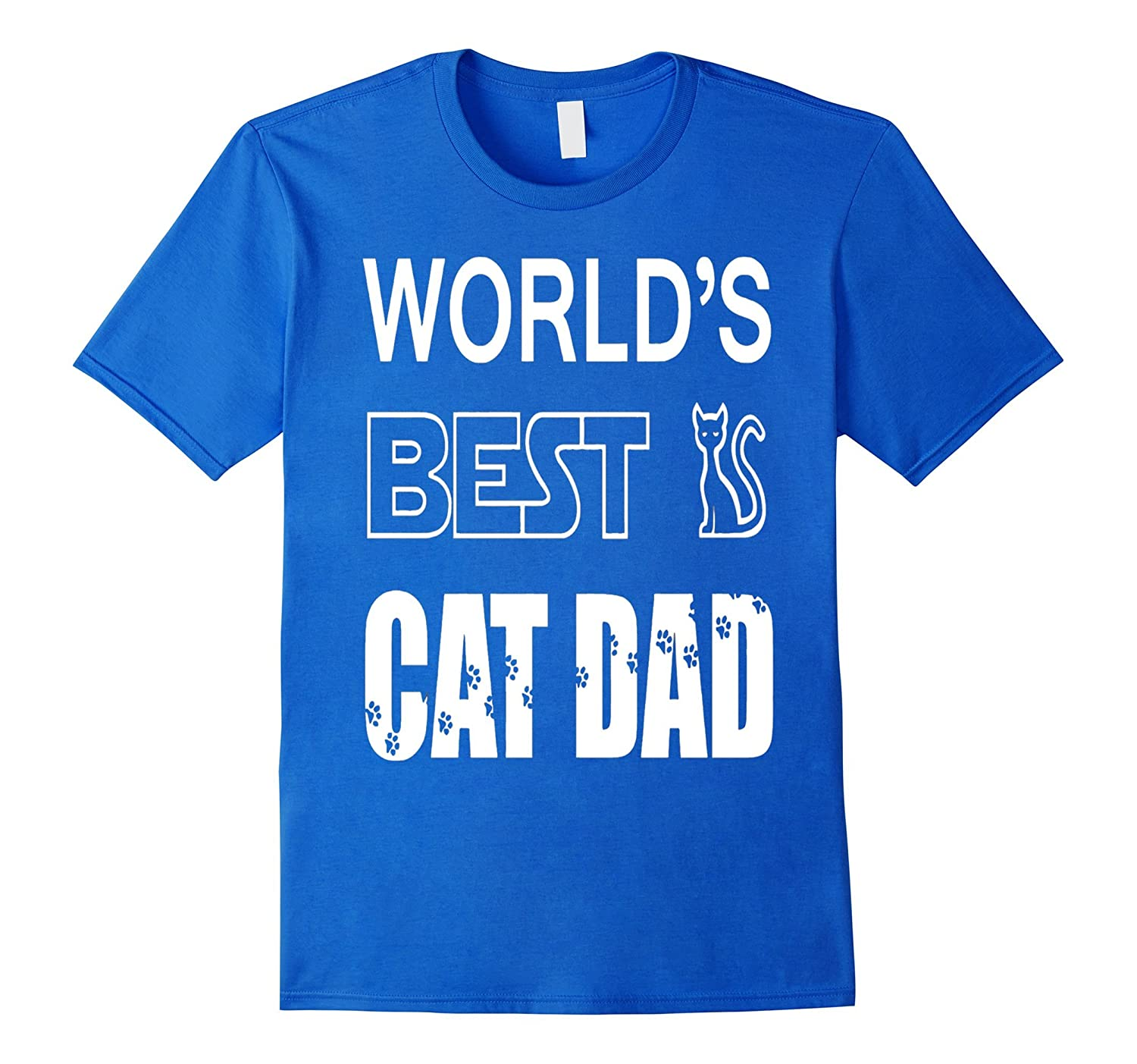 3eb1c577 ... Mens Worlds Best Cat Dad - Pet Lovers Fathers Day Gift T--TD ...