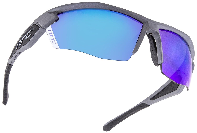 NRC Sportbrille X5 Mortirolo, Brille Unisex – Erwachsene, schwarz grau, Einheitsgröße