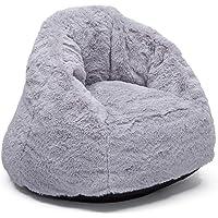 Delta Children Snuggle Foam Filled Chair, Toddler Size, Grey