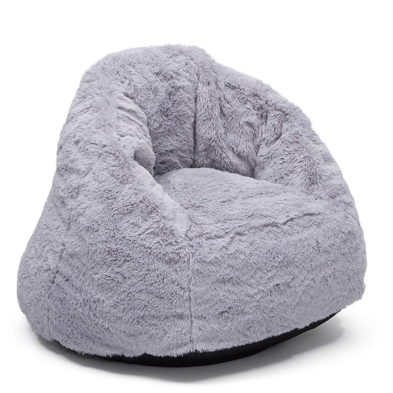 Delta Children Snug Foam Filled Chair, Grey, Toddler