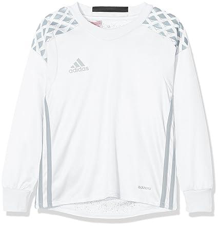 adidas Camiseta Team Onore 16 Y para Portero, Unisex, Color Blanco y Gris Claro