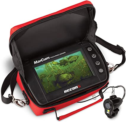MarCum Compact Recon 5 Underwater Ice Fishing Camera Panner Viewing System