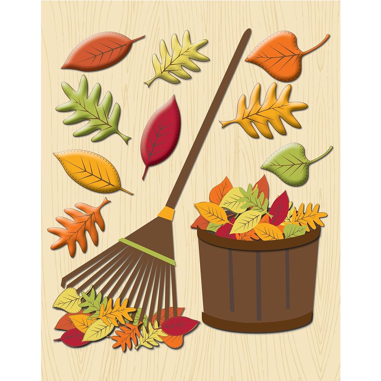 Unbekannt K & Company Rechen die Blätter Aufkleber Medley