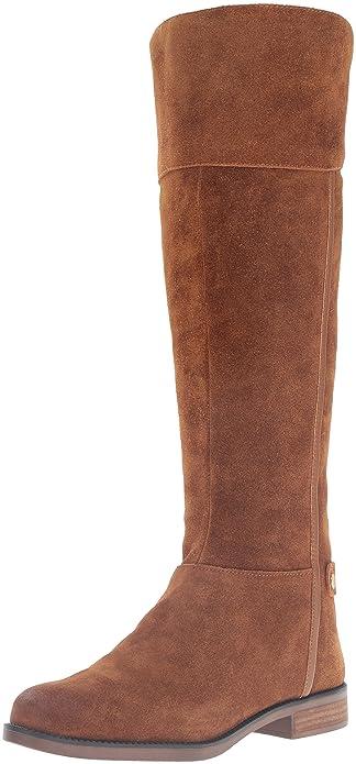 Amazon.com | Franco Sarto Women's Christine Equestrian Riding Boot ...