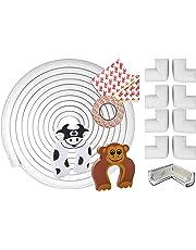 Seguridad de Infantil Chuckle – 6 Metros de Protección de Bordes de Mesa y Muebles,