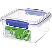 Sistema Klip IT 1.2 Litre Lunch Plus Klip It Food Storage Container, Clear