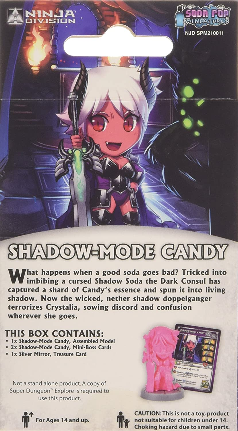 Shadow Mode Candy Board Game by Ninja Division: Amazon.es ...