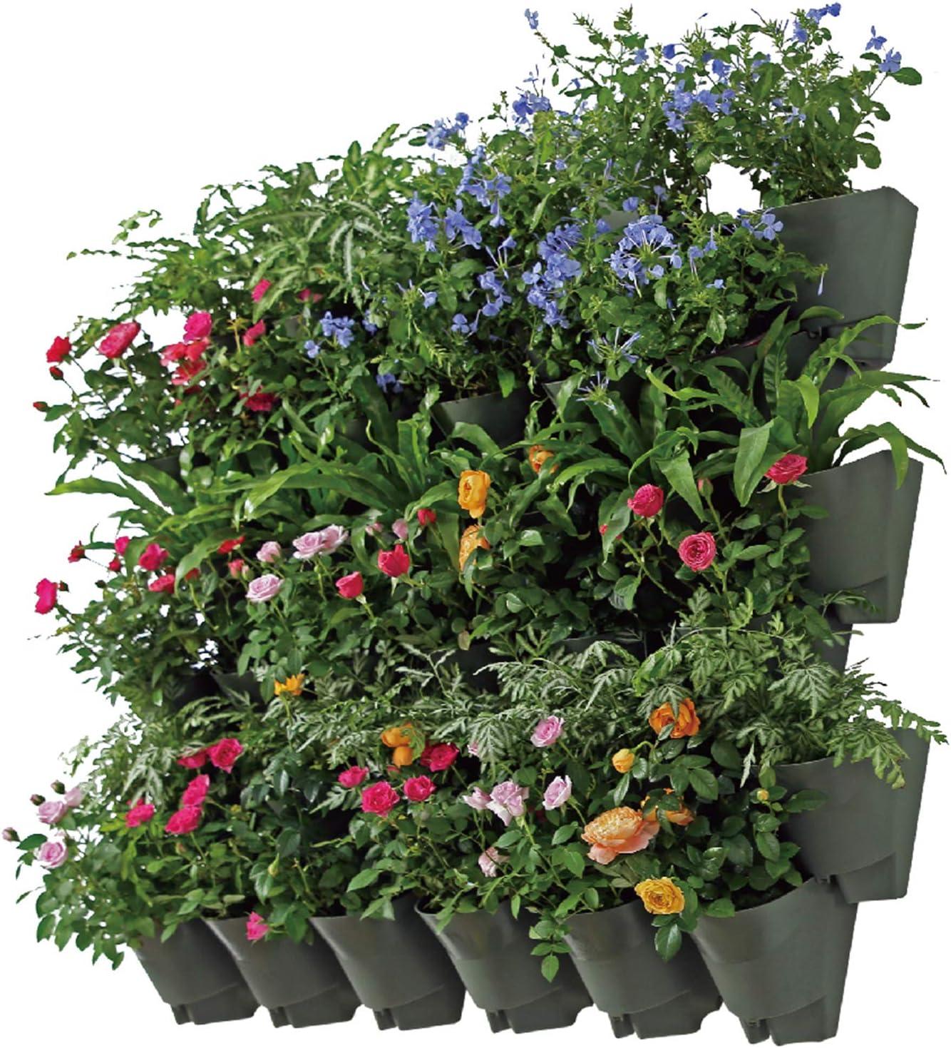 Amazon Com Worth Garden Self Watering Indoor Outdoor Vertical