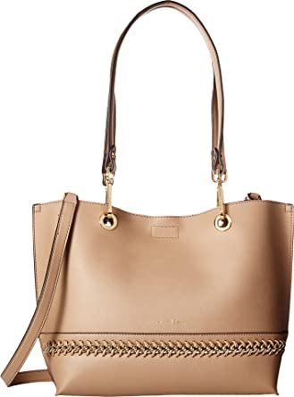 c2b81d7b25c Amazon.com: Calvin Klein Women's Sonoma Novelty Tote w/Chain Buff ...