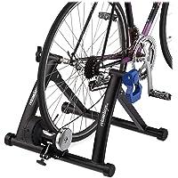 Relaxdays Rodillo Bicicleta Plegable para Ruedas de 26-28