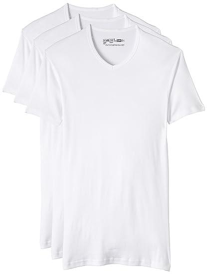 Dim Eco Dim Pack 3 Camisetas para Hombre, Blanco, M: Amazon.es: Ropa y accesorios