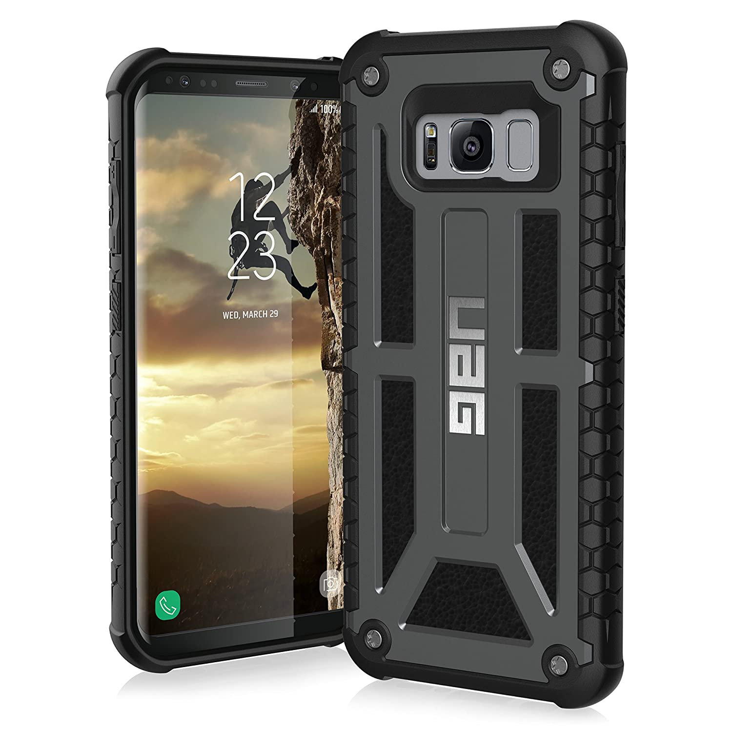 Galaxy s6 cases shop samsung cases online uag urban armor gear - Urban Armor Gear Monarch Feather Light Rugged Military Amazon Co Uk Electronics