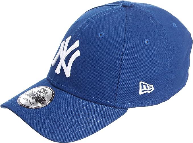 New Era Uomo MLB Basic NY Yankees 9Forty Berretto da Baseball Regolabile