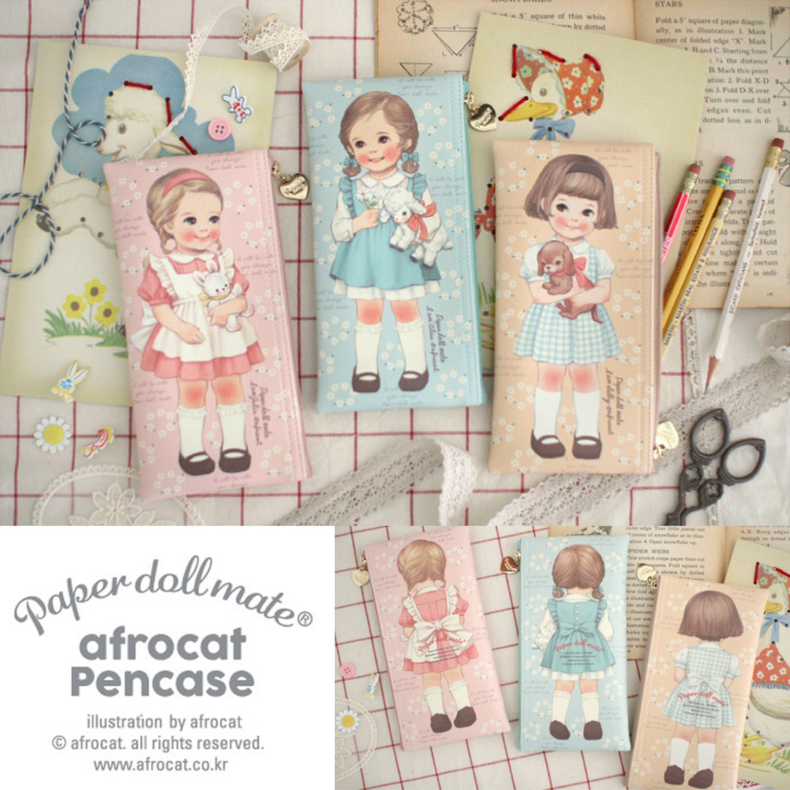paperdollmate pencase ver007_blooming Alice by paper doll mate (Image #3)