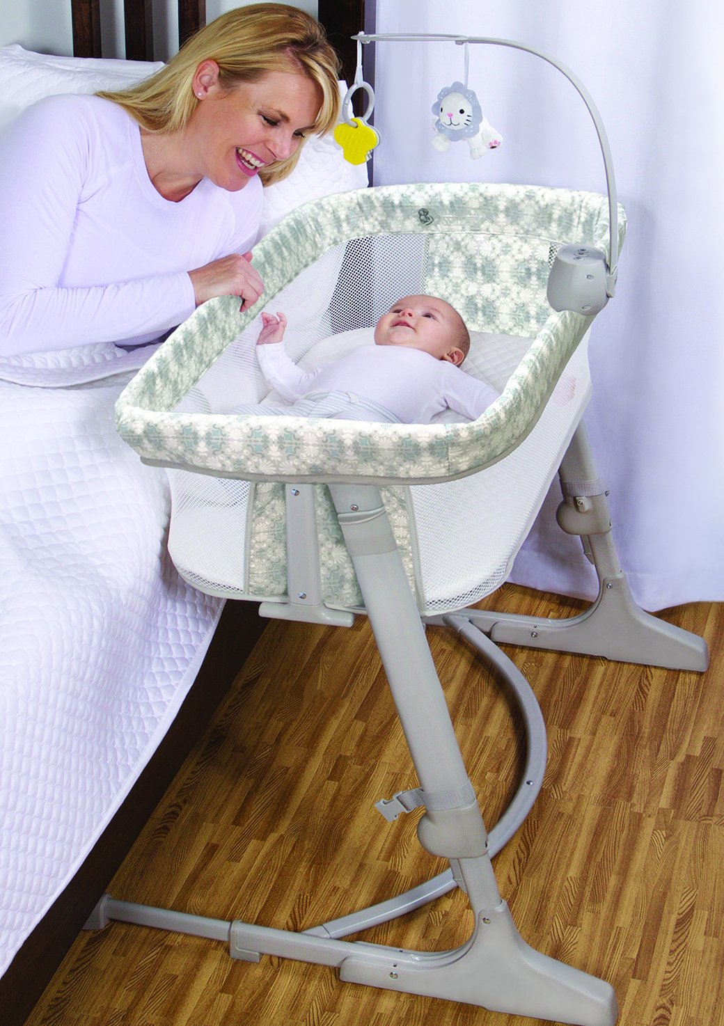 01e0d5381 Amazon.com   Arm s Reach Versatile Co-Sleeper - Interlock   Baby