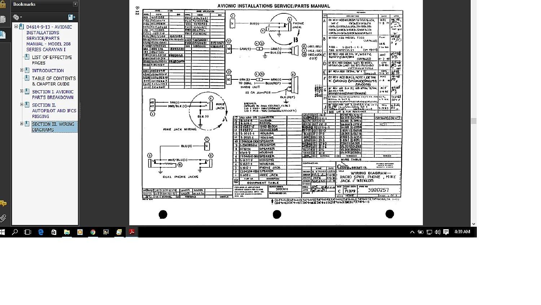 Miraculous Amazon Com Cessna 208 Caravan Avionics Service Parts Manual Wiring 101 Vieworaxxcnl